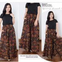 Celana Panjang Fida Longpants Kulot Jumbo Batik Wanita