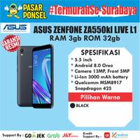 HP ASUS ZENFONE LIVE L1 ZA550KL 3/32GB GARANSI RESMI ASUS TERMURAH SBY