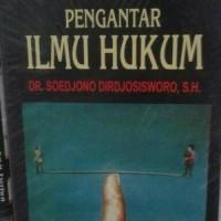 Jual Pengantar Ilmu Hukum by DR Soedjono Dirdjosisworo S Buku Hukum Murah