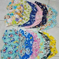 Harga celana pendek kulot anak piyama katun karakter lucu 1 3 | antitipu.com