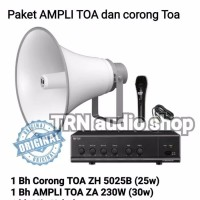 Harga paket toa sound system ampli corong | antitipu.com