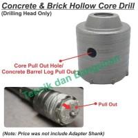 New Hollow Core Drill 55mm x Thread M22