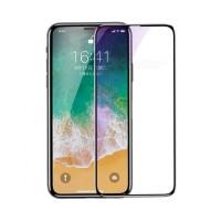 TG iPhone X Baseus Original Tempered Glass Anti Gores Kaca Full Layar