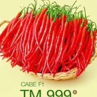 benih tanaman stok terbaru Benih Cabai TM-999 Cabai Hibrida F1 10 gram