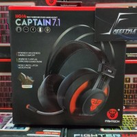 Fantech HG-14 Captain 7.1 True Surround Gaming Headset Garansi Resmi