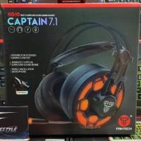Fantech HG-10 CAPTAIN 7.1 Headset Gaming Over Ear LED Garansi Resmi