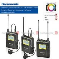 Saramonic UwMic9 Combo 3 in1 UHF Wireless Lavalier Microphone System