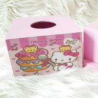 Souvenir Kotak Tissue/Tissue Box Custom/Souvenir Ultah/Tissue Box Kayu