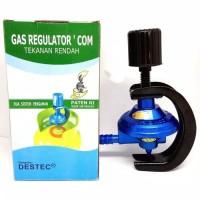 Jual Regulator gas Destec regulator pengaman regulator kompor putar 'com Murah