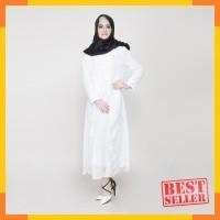 UMAIRAH DRESS WHITE