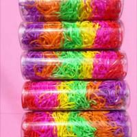 Karet gelang jepang warna warni untuk rambut model tabung harga murah