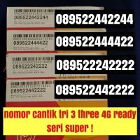 Harga promo nomor cantik tri 3 three seri super kartu perdana nomer | Pembandingharga.com