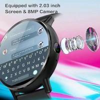 Unik Lemfo Lem X Smartwatch 4G 8MP Camera GPS Heart Rate vs Murah