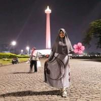 Terpopuler Gamis Embos Elegant - Gratis Hijab Syari