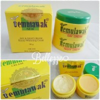 Temulawak Cream Holo Emas + Whitening Soap V natural Original