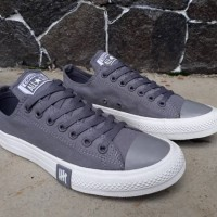 29e9f7eae7 Sepatu Converse All Star Undefeated Grey Premium Original BNIB