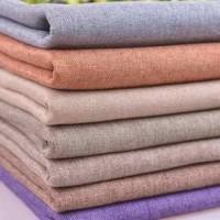bahan/kain katun linen burberry/bahan baju pria dan wanita.