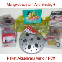 Mangkok Custom dan akselerasi vario 125 Vario 150 PCX Lokal