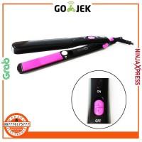 Wigo W-924 Hair Straightener Catok Rambut Profesional - Hitam-Pink