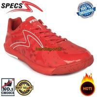 Sepatu Futsal Pria Specs Barricada Ultima IN SE 400650 - Red ORIGINAL
