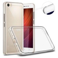 Case Xiaomi Redmi Note 5A / Jellycase Silicone / Casing Hp Transparent