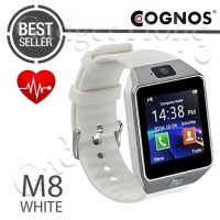 TERLARIS! COGNOS M8 SMARTWATCH HEART RATE DZ09 SMART WATCH - FULL