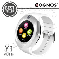 JUAL COGNOS Y1 SMARTWATCH GSM SIM WITH CAMERA CARD SMART WATCH - HITAM