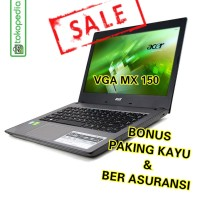 LAPTOP ACER ASPIRE E5-476G-CORE i5-8250u-VGA MX 150-windows 10 Ori