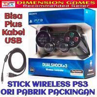 STIK PS3 / PS 3 WIRELESS ORIGINAL (Bonus Kabel USB)