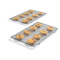 COOLING RACK - NON STICK COOKIES COOLER TABLE - MEJA RAK PENDINGIN KUE