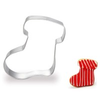SOCK COOKIE CUTTER - CETAKAN KUE KERING KAOS KAKI - CHRISTMAS SOCK