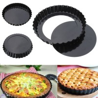 LOYANG PIE ALUMINIUM ALLOY - NON STICK PIE PAN - CETAKAN PIZZA