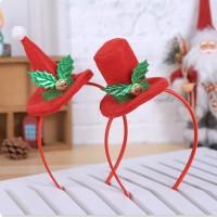 XBE bando premium topi runcing santa elf natal headband import