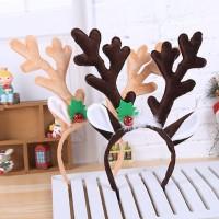 XBPR bando premium tanduk rusa deer aksesoris natal headband import