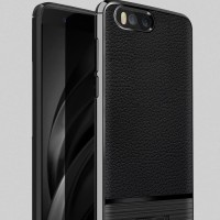 case Xiaomi Mi6 Mi 6 softcase casing tpu kulit LEATHER ARMOR