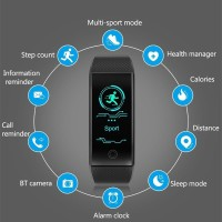 PROMO Qw18 Smartwatch Anti Air dengan Fungsi Tracker / Monitor Detak