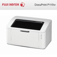 FUJI XEROX DocuPrint P115W A4 Mono Laser Printer Wireless Murah