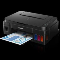 HARGA KHUSUS Canon All In One Printer PIXMA G2000 Sistem Isi U Limited