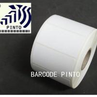 TURUN HARGA 50x30mm 1000pcs thermal gap3mm 1line core1 label s Diskon