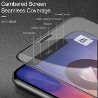 Tempered Glass CAFELE 4D Full Coverage Thin Screen Guard HP Xiaomi Mi8