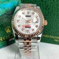 JAM TANGAN PRIA ROLEX DATEJUST 38MM SHAPIRE AUTOMATIC