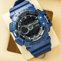 Best jam tangan pria Casio G-Shock GBA400 biru kw