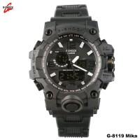 Best jam tangan Casio G-Shock GWG tali mika hitam kw