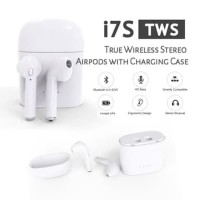 I7S TWS HEADSET BLUETOOTH WIRELESS AIRPODS STEREO HEADSET EARPHONE