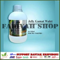 Jelly Gamat Gold G Walit Jelli Gamat plus Walet 320 ml