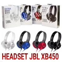 HEADSET HEADPHONE EXTRA BASS JBL XB450