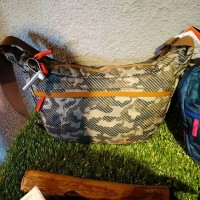 Tas Eiger Conceal Camo Soulder Bag Green Hijau 91000 3987 Original
