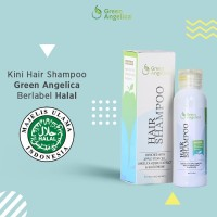 Shampo Anti Rontok yang Bagus - Green Angelica - Anti Ketombe