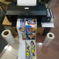 Mesin Printer Sticker Vinyl Inkjet A3 Epson Tinta Artpaper Paket