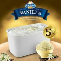 Ice Cream Campina 5 lt VANILLA / es krim 5 liter
